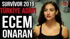"""Survivor 2019""""un İlk Kadın Yarışmacısı Ecem Onaran oldu!"""