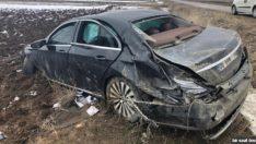 Pasinler Belediye Başkan Adayı Ahmet Dölekli Kaza Geçirdi!