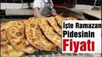 İstanbul'da Ramazan Pidesi Kaç Para Olacak?